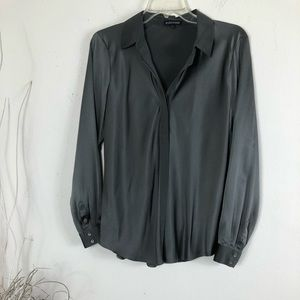 EILEEN FISHER CASUAL BUTTON UP LONG SLEEVES BLOUSE